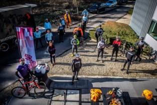 Limburgers fietsen acht keer de provincie rond voor Een Hart voor Limburg