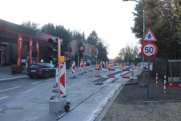 Kruispunt Eigenbrakelse Steenweg bijna afgewerkt