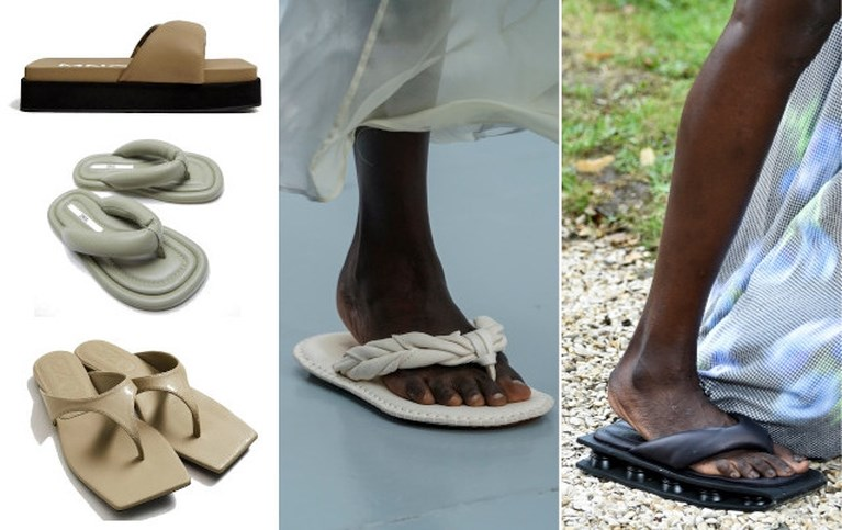 Ballerina's en flipflops: zes schoenentrends voor komende lente