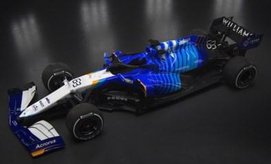 Williams F1 team slachtoffer van hacking tijdens presentatie opvallende blauw gestreepte F1-bolide