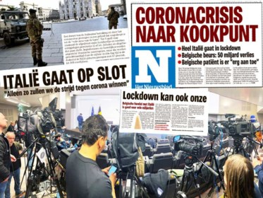 Van het cruciale advies dat niet werd gevolgd tot een boze De Wever: zo verliep de week voor de eerste lockdown