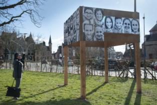 Niet politici, wel Bruggelingen sieren straatbeeld in hartverwarmend project