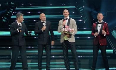 """Geen """"twelve points"""" voor op scooter liftende Zlatan Ibrahimovic na poging tot zingen tijdens muziekfestival"""