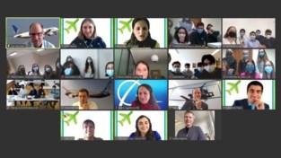 Leerlingen van Sint-Janscollege derde in Boeing-innovatiekamp