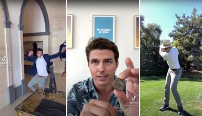 """Chris Umé, de Vlaming achter valse Tom Cruise op Tiktok: """"Cruise heeft na onze video's zelf een Tiktok-account aangemaakt"""""""