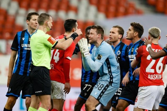 Standard wipt Club Brugge uit de beker na ongezien slot: ref keurt gelijkmaker eerst af, dan goed en dan weer af