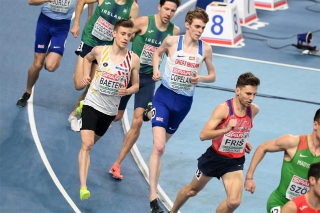 Stijn Baeten eindigt in finale 1500m als dertiende, Noor Jakob Ingebrigtsen verovert goud