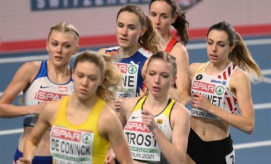 Vanessa Scaunet bereikt halve finales 800m op EK atletiek indoor, Mirte Fannes uitgeschakeld