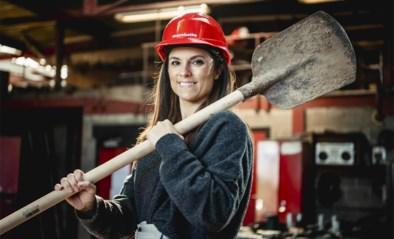"""Cerina Marchetta (38), topvrouw in de bouw: """"Naar mij fluiten op de werf? Dat durven de mannen niet"""""""