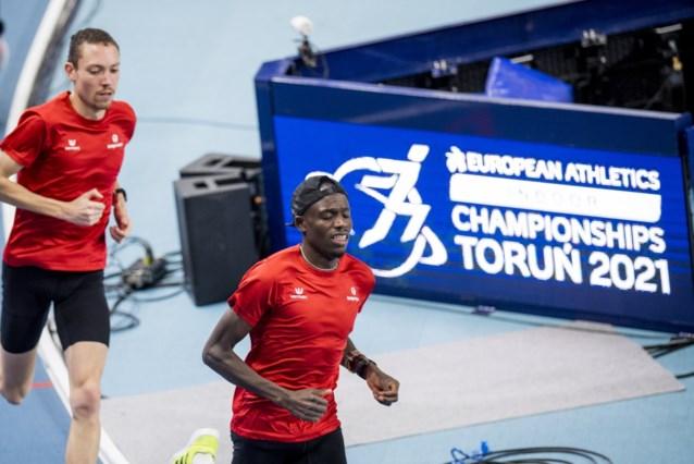 """Isaac Kimeli mikt tijdens EK indoor op finale in 3000m : """"En daarin is alles mogelijk"""""""