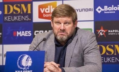 """Het geduld van Hein Vanhaezebrouck lijkt op: """"De spelers weten maar al te goed wat er fout loopt"""""""