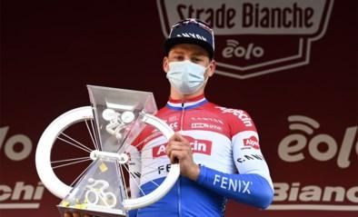 """Van der Poel: """"Strade Bianche stond al lang op mijn lijstje, dus ik ben heel gelukkig"""""""