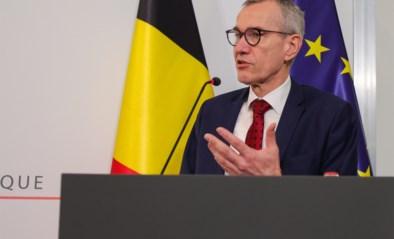"""Frank Vandenbroucke (SP.A), volksgezondheidsminister: """"Wie in een rijhuis woont, mag mensen laten passeren om naar de tuin te gaan"""""""