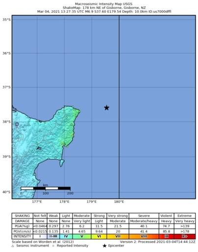 Krachtige naschokken daags na aardbevingen in Nieuw-Zeeland