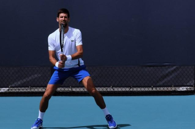 Novak Djokovic plant comeback na maand rusten