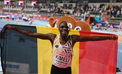 EK INDOOR. Isaac Kimeli pakt zilver op 3000 meter EK atletiek, Alexander Doom vierde starter bij Belgian Tornados