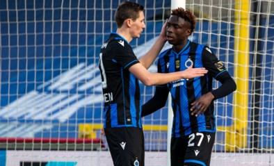 Scoren en al gewisseld na halfuur: opvallende vervanging van Club Brugge-spits Badji