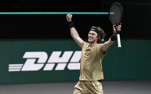 Andrey Rublev verovert eindzege op ATP-toernooi Rotterdam na winst tegen Fucsovics