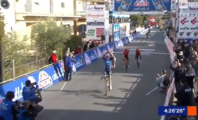 Sterke Mauri Vansevenant wint GP Larciano voor Bauke Mollema en Mikel Landa