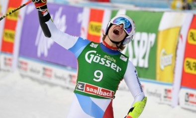 Marco Odermatt wint Super-G in Saalbach-Hinterglemm