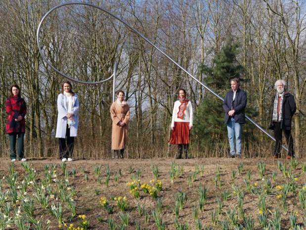 Ferm opent Vlaamse Troostplek op Brielmeersen: kunstwerk staat symbool voor troost en hoop na corona