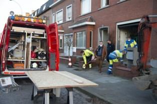 Arbeider lichtgewond na gasontploffing, uurtje verkeershinder tijdens herstellingswerken
