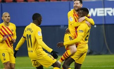 Lionel Messi loodst Barcelona met twee assists voorbij middenmoter en zet leider Atlético onder druk