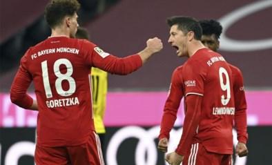 Bayern München blijft in extremis alleen leider na geweldige comeback tegen Borussia Dortmund