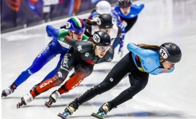 Hanne Desmet schaatst naar zilver op 1.000 meter op WK shorttrack