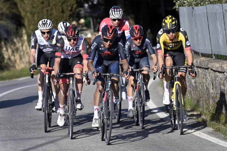 REACTIES. Julian Alaphilippe heeft nergens spijt van, Egan Bernal verrast door podiumplaats in Strade Bianche