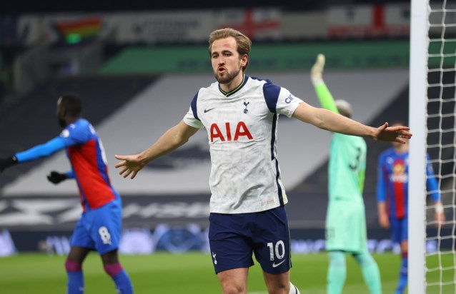 Ondanks doelpunt Christian Benteke: Indrukwekkende Harry Kane bezorgt Tottenham met twee goals en twee assists zege tegen Crystal Palace
