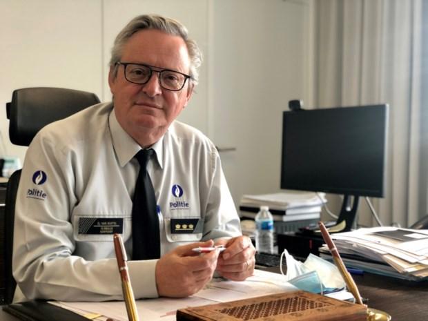 Dirk Van Nuffel vijf jaar langer korpschef van lokale politie Brugge