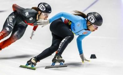 """Bondscoach Pieter Gysel trots op Belgische vicewereldkampioene shorttrack: """"Hanne Desmet heeft laten zien wat ze kan"""""""