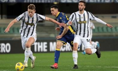 Juventus doet het zonder De Ligt tegen Porto