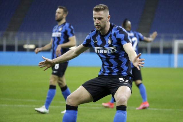 Inter verstevigt leidersplaats en heeft daar dit keer zelfs geen goal van Lukaku voor nodig