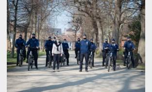 Wijkpolitie met elektrische fietsen de baan op