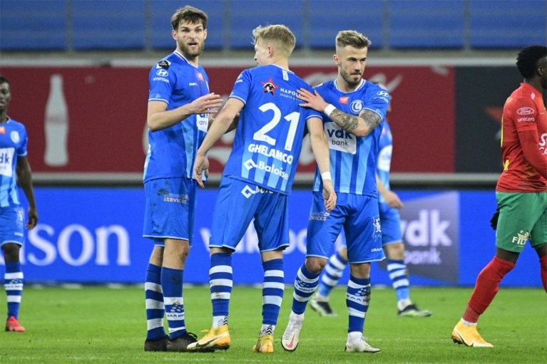 KV Oostende mist de kansen en vergeet afstand te nemen van Anderlecht: efficiënt AA Gent pakt volle buit