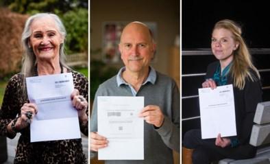 """Van 33 tot 91 jaar, zij kregen al een vaccinatie-uitnodiging: """"Ik leef al mijn hele leven in een bubbel"""""""