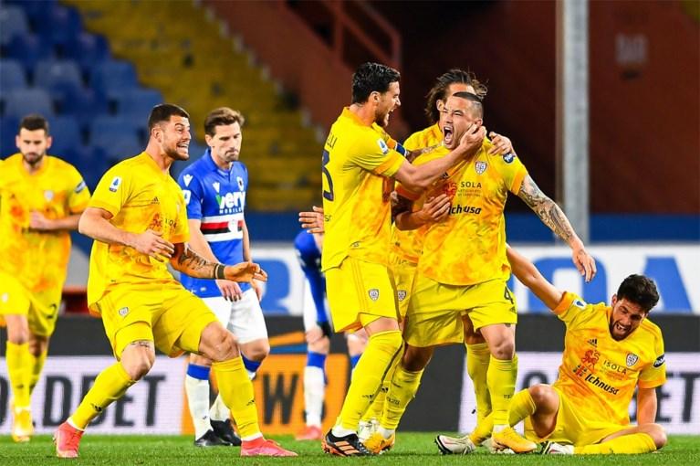 Radja Nainggolan leeft nog: gewezen Rode Duivel bezorgt Cagliari gelijkspel met mooie goal in absolute slotfase