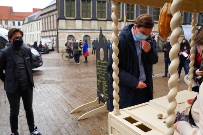 Blauw onderonsje in Gent: liberale voorzitters op bezoek bij Mathias De Clercq
