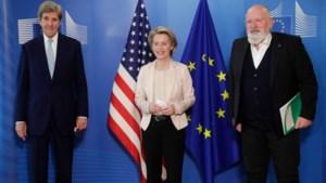 Amerikaanse klimaatgezant John Kerry wil scherpere ambities, ook van Europa