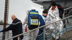 61 migranten gered op het Kanaal