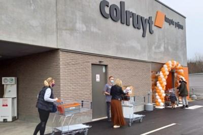 Nieuwe Colruyt in Bilzen trekt meteen veel bezoekers