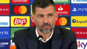 Bizar: geen enkele vraag voor Sergio Conceiçao op persconferentie nadat hij met Porto de zege van zijn carrière boekt