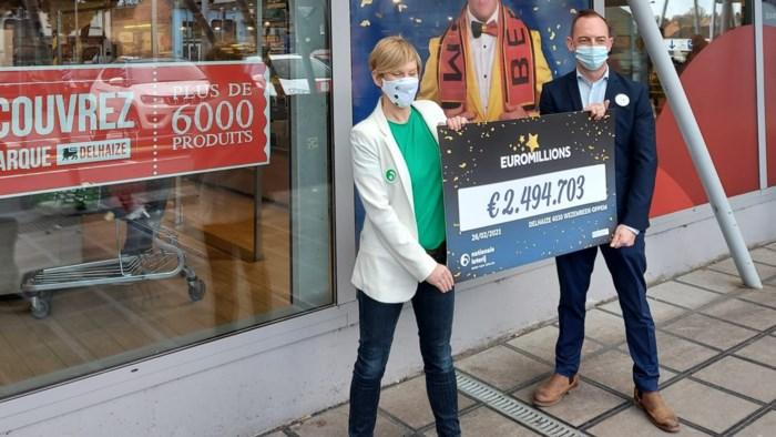 """Inzet van 2,5 euro levert Belgische EuroMillions-winnaar maar liefst 2,5 miljoen euro op: """"Een tripje naar de Grand Canyon kan er nu wel af"""""""