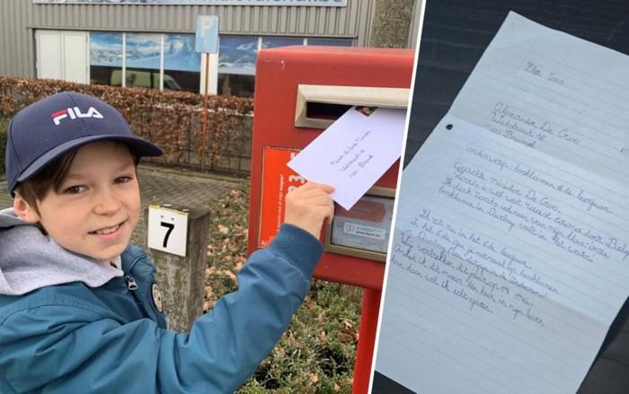 Flor (11) wil zo graag op bosklassen dat hij het aan de premier zelf vroeg. En die belde terug