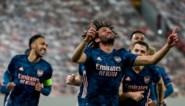 EUROPA LEAGUE. Arsenal ondanks blunders voorbij Olympiakos, Tottenham klopt Dinamo Zagreb