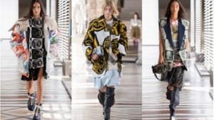 Louis Vuitton presenteert collectie in het Louvre