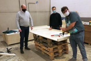 De Bedstee laat unieke boxspring maken in nieuwe houtafdeling