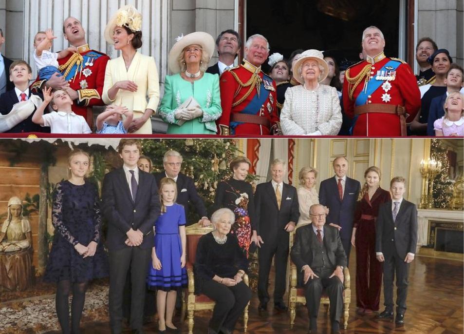 Het Paleis van Schone Schijn: onze royaltywatcher ziet opvallend veel gelijkenissen tussen Brits en Belgisch koningshuis - Het Nieuwsblad